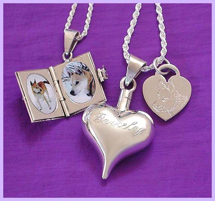 the berkinator's pet memorial jewelry