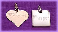 engraved cremation urn pendants / pet memorial jewelry