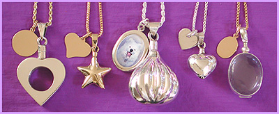 pet loss memorial jewerly / urn pendant combinations