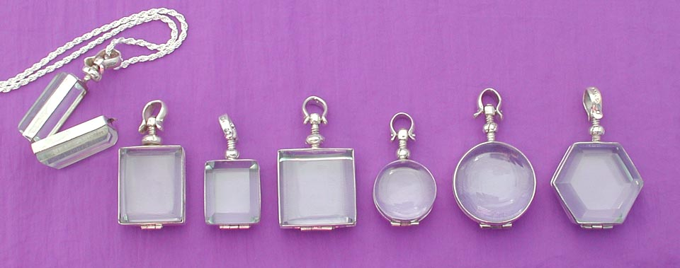glass locket / pet memorial jewelry 2