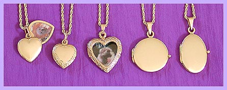 gold locket / pet memorial jewerly 2