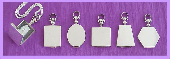 silver locket /pet memorial jewerly 1