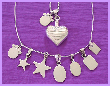 silver pet memorial jewelry tag