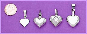 white gold pet cremation urn pendant / memorial jewelry