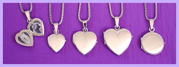 white gold lockets / pet memorial jewerly 3